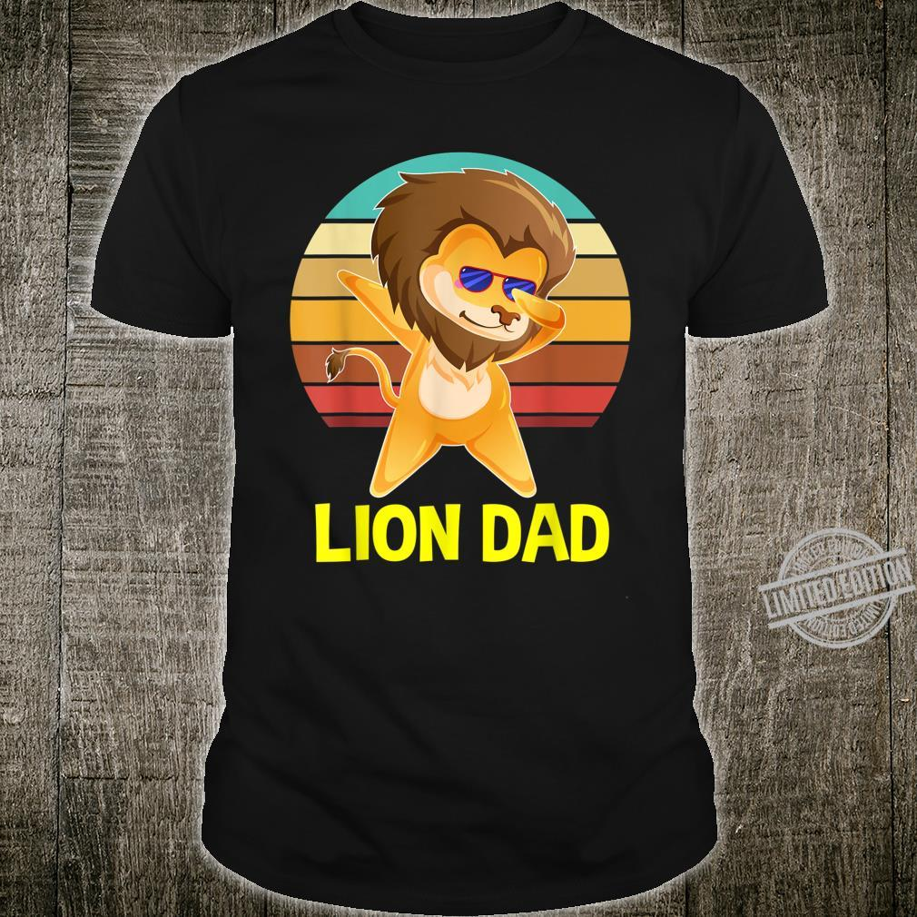 Lion Dad Fathers Daddy Shirt